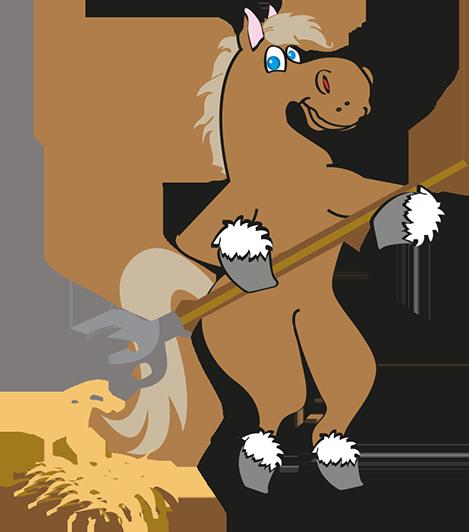 cheval-debout